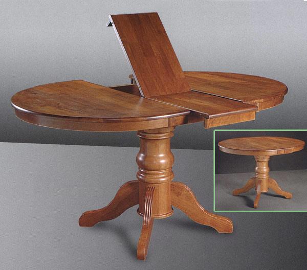 Обеденный стол овальный своими руками